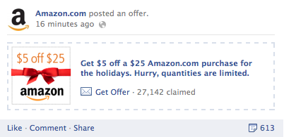 Amazon 5 off 25
