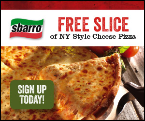 Sbarro Free Slice