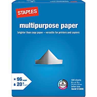staples-paper