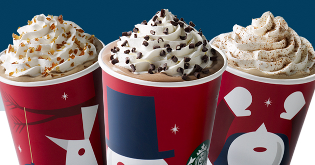 Starbucks Holiday Drinks