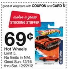 Walgreens Hot Wheels