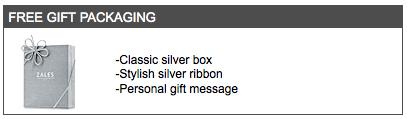 Zales gift box
