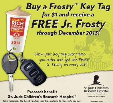 wendys-frosty-key-tag