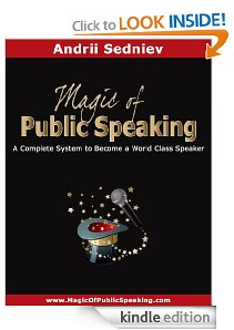 Magic of pulic speaking